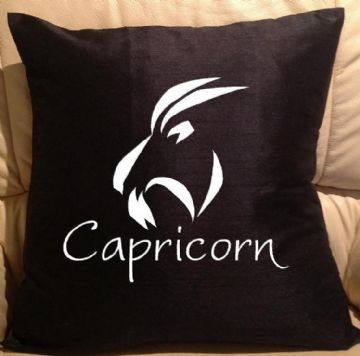Horoscope - star sign Capricorn pillow, sofa cushions